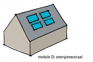 Module D Drentse Schuurwoning